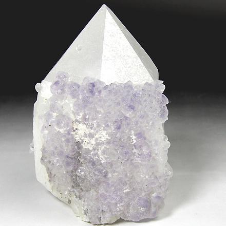 水晶 with フローライト