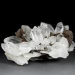 パイライトを伴うヒマラヤ水晶