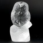 水晶彫刻 フクロウ