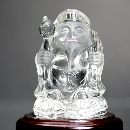 水晶彫刻(大国さん)