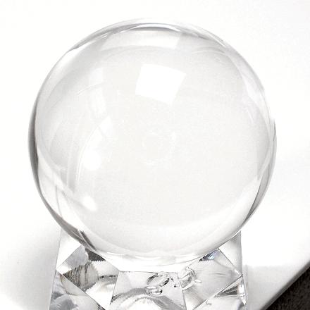 透明無垢の水晶丸玉